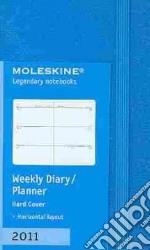 Agenda Moleskine 2011 - SETTIMANALE EXTRA SMALL Copertina Rigida Turchese articolo per la scrittura
