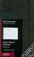 Agenda Moleskine 2011 - GIORNALIERA LARGE Copertina Rigida Nera art vari a