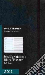 Agenda Moleskine 2011 - SETTIMANALE LARGE Copertina Morbida Nera articolo per la scrittura