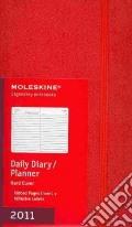 Agenda Moleskine 2011 - GIORNALIERA LARGE Copertina Rigida Rossa art vari a