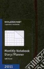 Agenda Moleskine 2011 - MENSILE POCKET Copertina Morbida Nera articolo per la scrittura