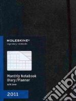 Agenda Moleskine 2011 - MENSILE EXTRALARGE Copertina Morbida Nera articolo per la scrittura
