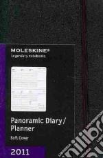 Agenda Moleskine 2011 - PANORAMIC PLANNER POCKET Copertina Morbida Nera articolo per la scrittura
