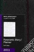 Agenda Moleskine 2011 - PANORAMIC PLANNER POCKET Copertina Morbida Nera art vari a