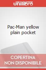 Pac-Man yellow plain pocket articolo per la scrittura