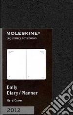 Moleskine Agenda 2012 Giornaliera EXTRASMALL Planner - Copertina Nera  articolo per la scrittura
