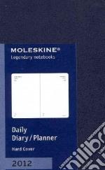 Moleskine Agenda 2012 Giornaliera EXTRASMALL Planner - Copertina Blu  articolo per la scrittura