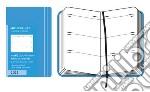 Moleskine Agenda 2012 Giornaliera EXTRASMALL Settimanale Orizzontale - Copertina Azzurra articolo per la scrittura
