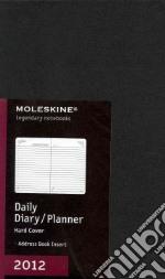 Moleskine Agenda 2012 Giornaliera LARGE - Copertina Rigida Nera articolo per la scrittura