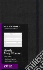 Moleskine Agenda 2012 Settimanale Orizzontale LARGE - Copertina Rigida Nera articolo per la scrittura
