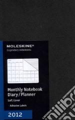 Moleskine Agenda 2012 Mensile LARGE - Copertina Morbida Nera articolo per la scrittura