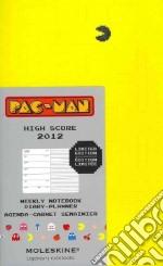 Agenda Moleskine 2012 PAC-MAN Limited Edition - Settimanale Large Copertina Gialla articolo per la scrittura