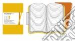 Golden yellow ruled volant notebooks XS articolo per la scrittura