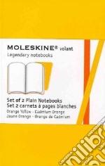 Golden yellow plain volant notebooks XS articolo per la scrittura