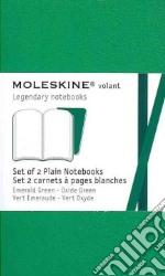 Emerald green plain volant notebooks XS articolo per la scrittura