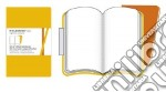 Golden yellow ruled volant notebooks P articolo per la scrittura