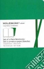 Emerald green plain volant notebooks P articolo per la scrittura