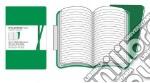 Emerald green ruled volant notebooks XL articolo per la scrittura