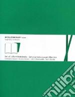 Emerald green plain volant notebooks XL articolo per la scrittura
