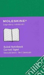 Ruled notebook extra small grass green articolo per la scrittura