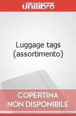 Luggage tags (assortimento) articolo per la scrittura di Moleskine