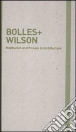 Moleskine Bolles + Wilson Inspiration and Process in Architecture Monograph articolo per la scrittura di Moleskine (COR)