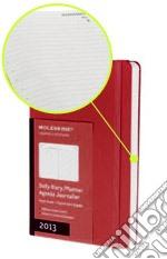 Agenda 2013 Pocket Giornaliera - Colore Rosso articolo per la scrittura