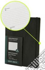 Agenda 18 mesi 2012-2013 - Settimanale Large Copertina Soft Nera articolo per la scrittura