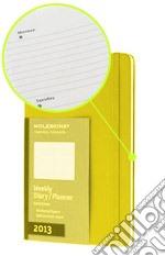 Agenda 2013 Large Arancio - Settimanale Orizzontale  articolo per la scrittura