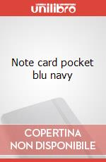 Note cards with envelope. P navy blue articolo per la scrittura