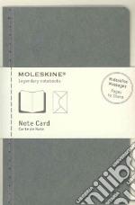 Note cards with envelope. P light grey articolo per la scrittura
