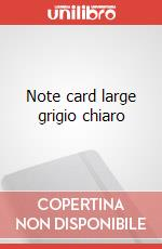 Note cards with envelope. L light grey articolo per la scrittura