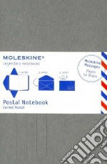 Postal notebook. P light grey articolo per la scrittura