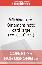 Wishing tree-. Ornament note card large (conf. 10 pz.) articolo per la scrittura di Moleskine
