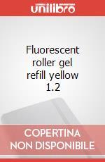 Fluorescent roller gel refill yellow articolo per la scrittura
