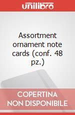 Assortment ornament note cards (conf. 48 pz.) articolo per la scrittura di Moleskine