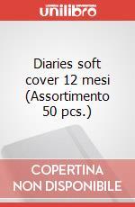 Diaries soft cover 12 mesi (Assortimento 50 pcs.) articolo per la scrittura di Moleskine