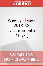 Weekly diaries 2013 XS (assortimento 24 pz.) articolo per la scrittura di Moleskine