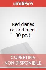 Red diaries  (assortiment 30 pz.) articolo per la scrittura di Moleskine