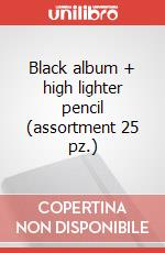 Black album + high lighter pencil (assortment 25 pz.) articolo per la scrittura di Moleskine