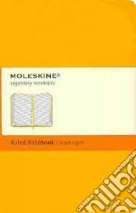 Notebook pkt rul oran yellow hard articolo per la scrittura