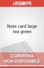 Nc tea green l articolo per la scrittura