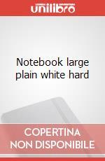 Notebook lg pla white hard articolo per la scrittura