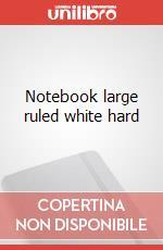Notebook lg rul white hard articolo per la scrittura