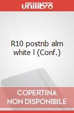 R10 postnb alm white l articolo per la scrittura di Moleskine