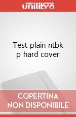 Test plain ntbk p hard cover articolo per la scrittura