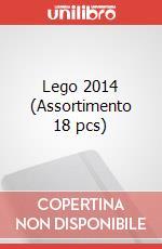 Lego 2014 (Assortimento 18 pcs) articolo per la scrittura di Moleskine