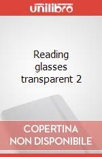 Reading glasses transparent 2 articolo per la scrittura