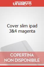 Cover slim ipad 3&4 magenta articolo per la scrittura