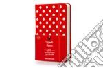 Agenda. 12 mesi. Minnie mouse daily diary. Pocket. Copertina rigida rossa articolo per la scrittura